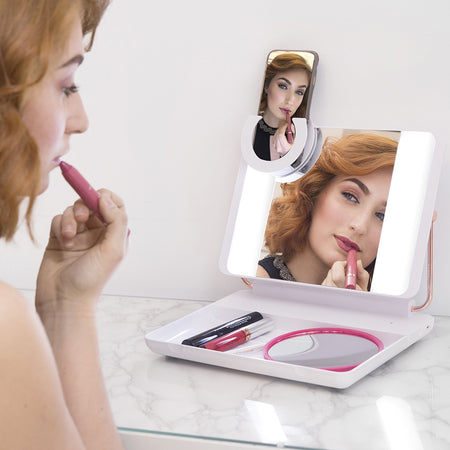 SPOTLITE HD ULTRA-BRIGHT TRUE DAYLIGHT MAKEUP MIRROR - DIAMOND BO$$