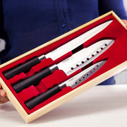 3-Piece Stainless Steel Knives Set