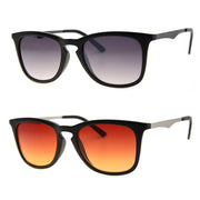 2 PC SUNGLASS BUNDLE - SEARCHERS - BLACK, AMBER