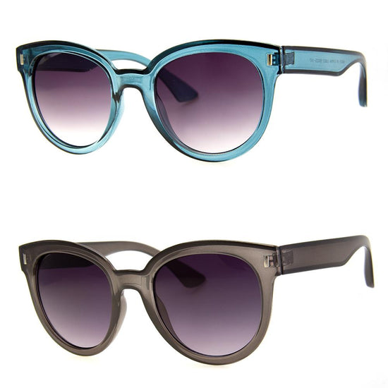2 PC SUNGLASS BUNDLE - DEFINED - GREY, TEAL