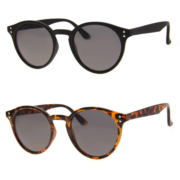 2 PC SUNGLASS BUNDLE - SCRUPLES - BLACK, TORTOISE