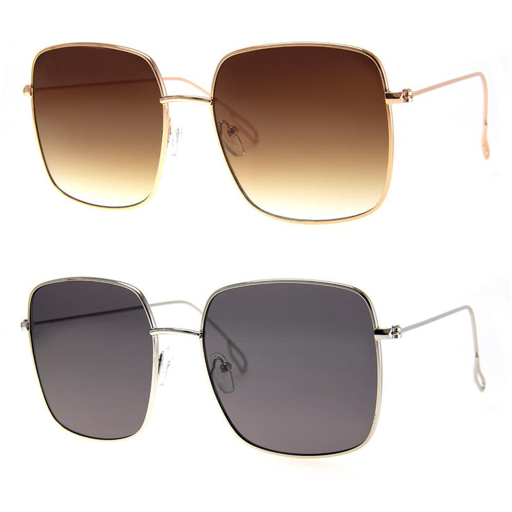2 PC SUNGLASS BUNDLE - M SQUAD - GOLD, SILVER