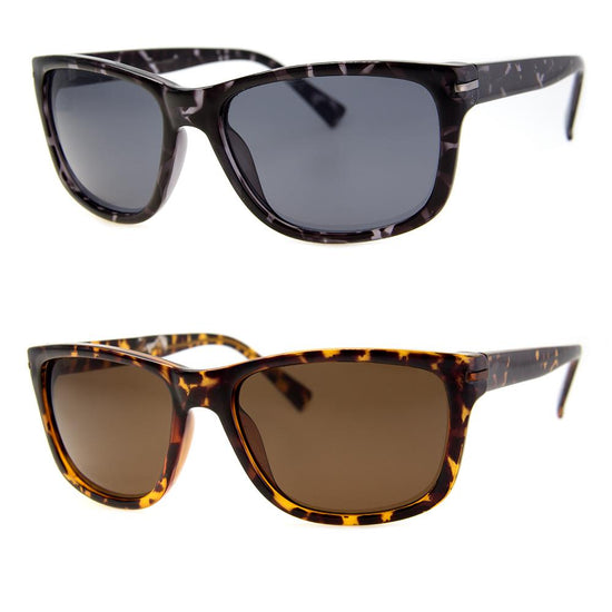 2 PC SUNGLASS BUNDLE - STRENGTH - GREY, TORTOISE