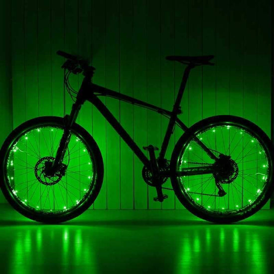Green Wheel Lightz LEDs