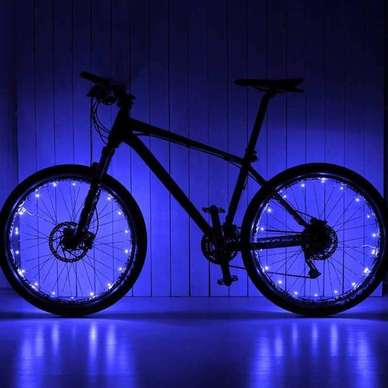 Blue Wheel Lightz LEDs