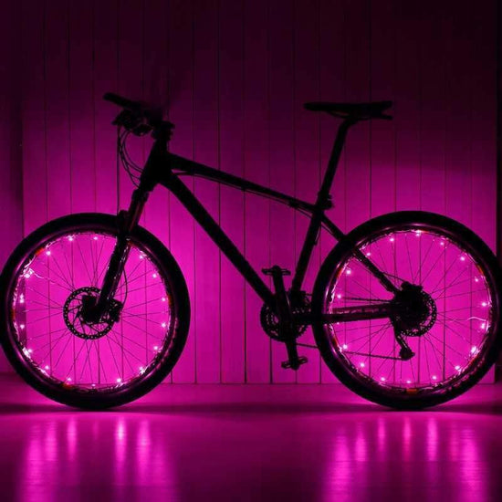 Pink Wheel Lightz LEDs