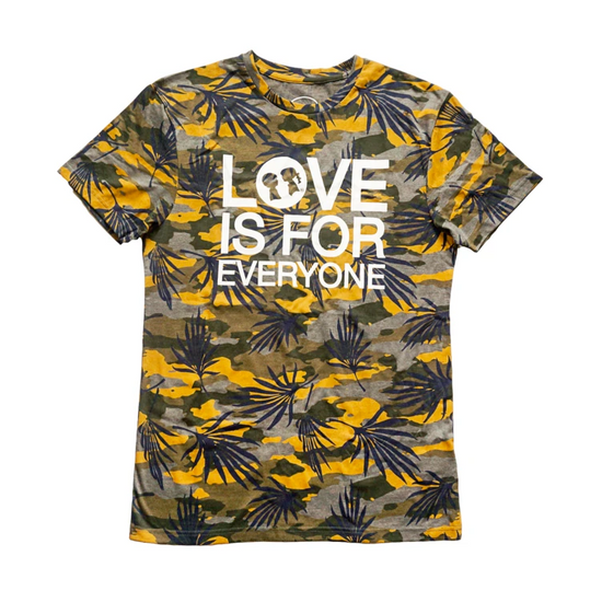 BOY MEETS GIRL® Love Is For Everyone Tropical Oversized T-Shirt