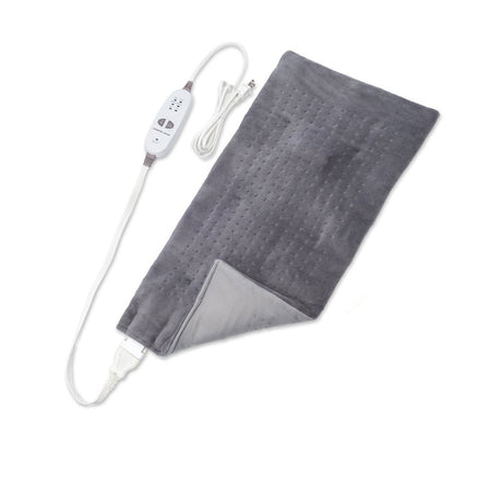 Calming Heat™ By Sharper Image® 12 Setting Weighted Massaging Heating Pad