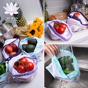 Lotus Produce Bags - Set of 9