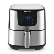Kalorik 5.3 Quart Air Fryer Pro XL, Stainless Steel