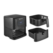 Kalorik 5.3 Quart Digital Air Fryer XL, Matte Black