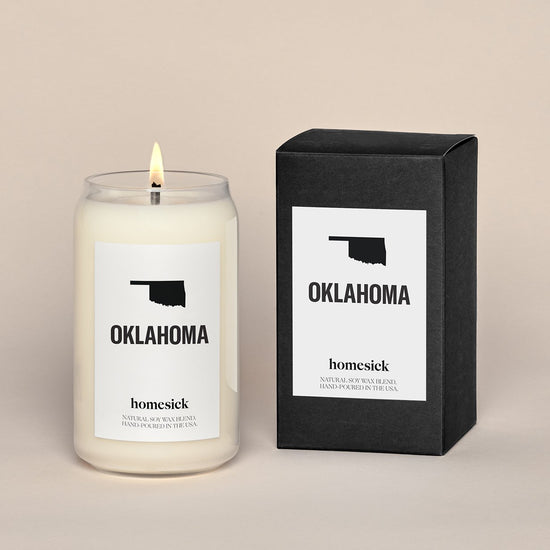 2 Pack of Oklahoma Candles
