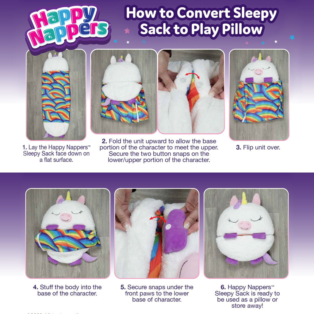 Green Cow Large Happy nappers Play Pillow and Sleeping Bag Fun Sleeping Bag Surprise.