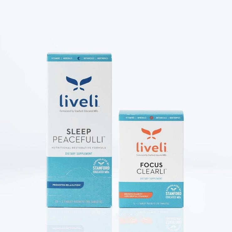 Sleep Peacefulli + 5-Day mini Focus Clearli Duo