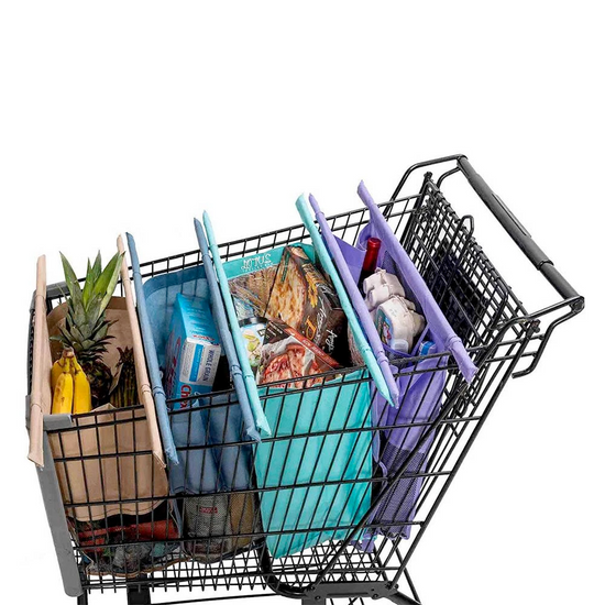 6 Trolley Shopping Trollies only bag Replacement Spare Shopping Trolley Bags 4