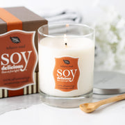 Soy Delicious Tobacco Road 14oz candle bamboo spoon included
