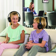 Own Zone Wireless TV Headphones By Sharper Image