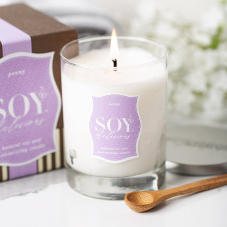 PEONY SOY DELICIOUS CANDLE