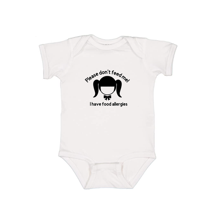Please don't feed me! - Girl Onesie