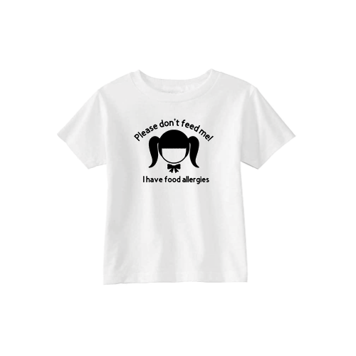 Please don't feed me! - Girl T-Shirt