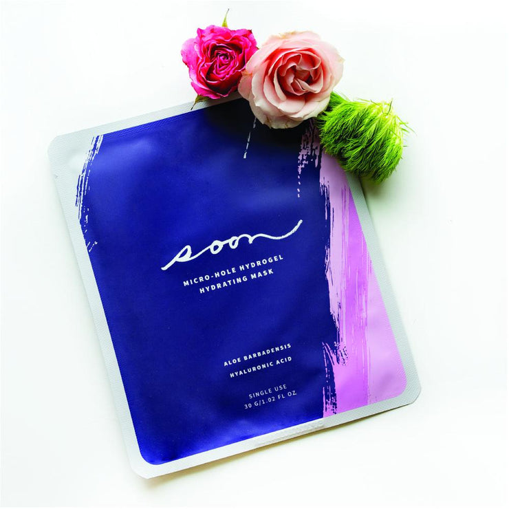 Micro-Hole Hydrogel Hydrating Face Mask