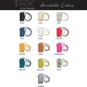 Crossbody TREK for for iPhone X/XS (13 COLORS AVAILABLE)