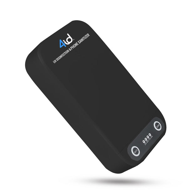 Black UV-C Phone Sanitizer