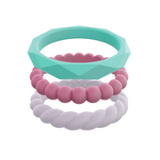 Women's Chic Stackable Set Silicone Rings