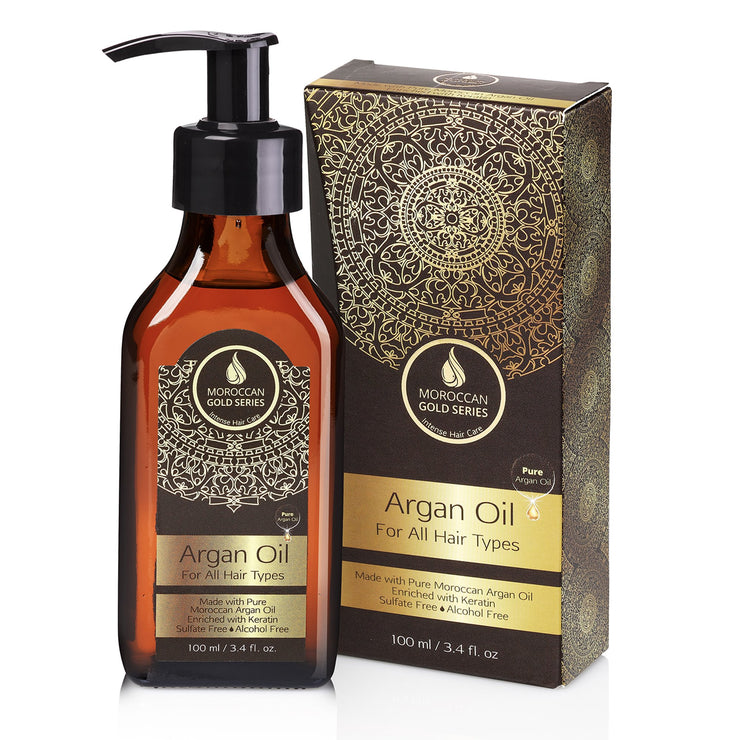 Moroccan Gold Series Argan Oil, 100ml