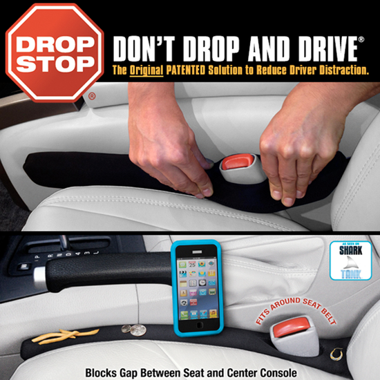 Drop Stop Vehicle Seat Gap Filler