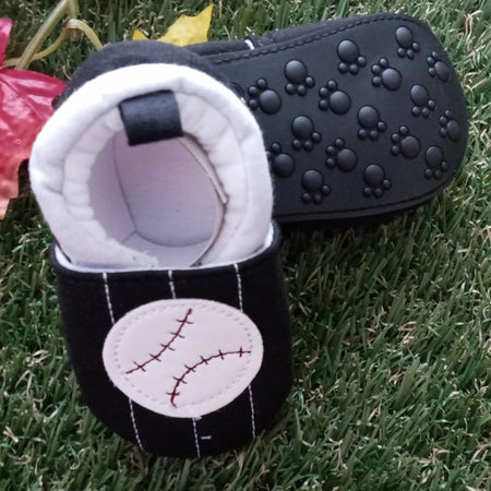 Zammy Yammy Baseball and Glove Walkies Baby Shoes