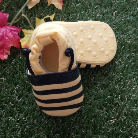 Zammy Yammy Bumble Bee Shoes Walkies Baby Shoes