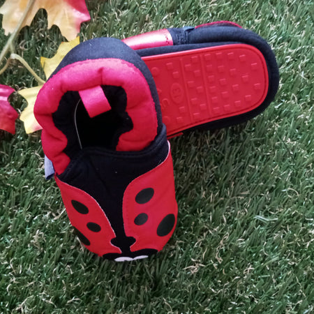 Zammy Yammy Lady Bug Walkies Baby Shoes