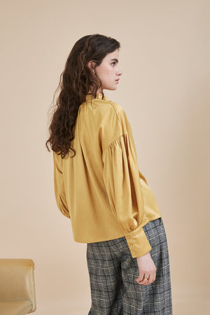 Lindy Blouse - Ocre