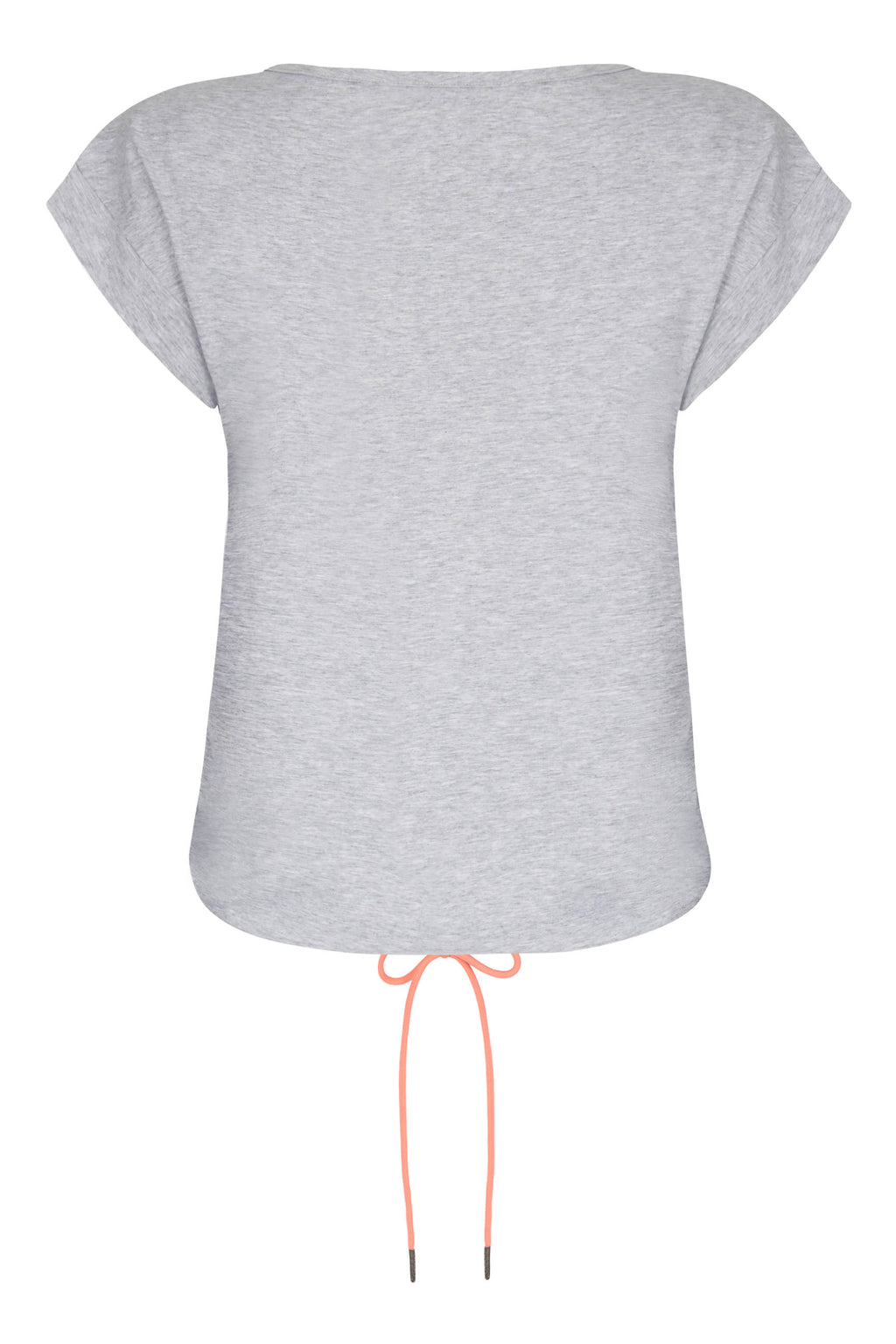 Matilda Grey Marl Jersey Top