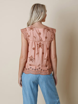 Camisa - Embroidered Maquillaje