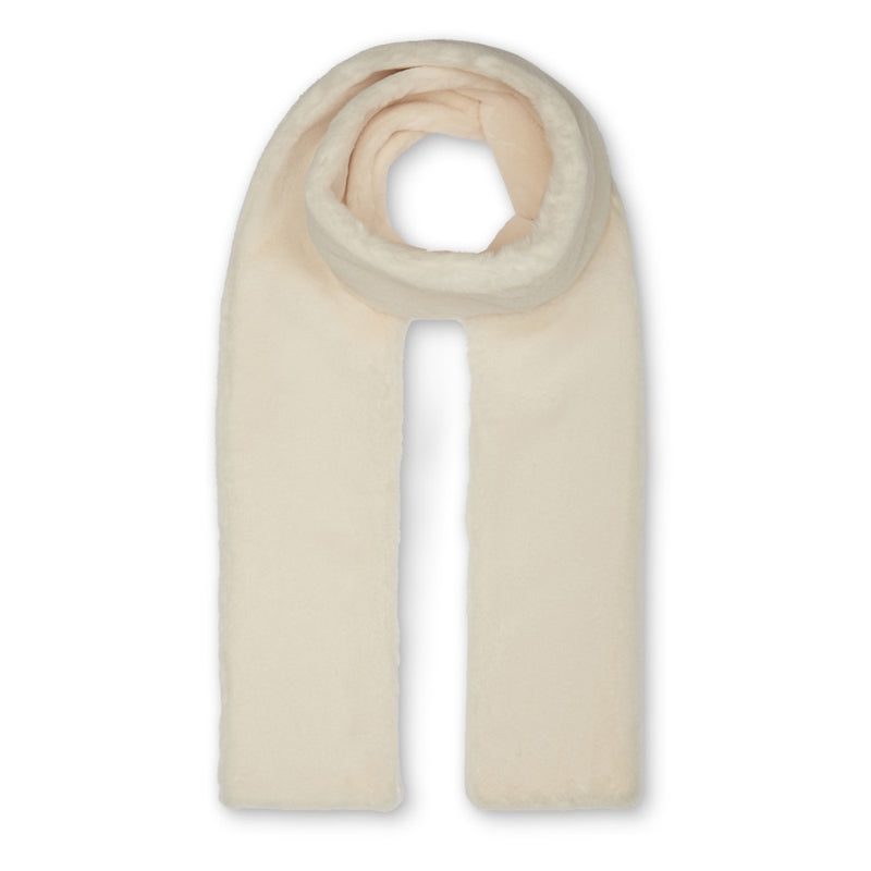 Anna Double Layer Scarf - Cream