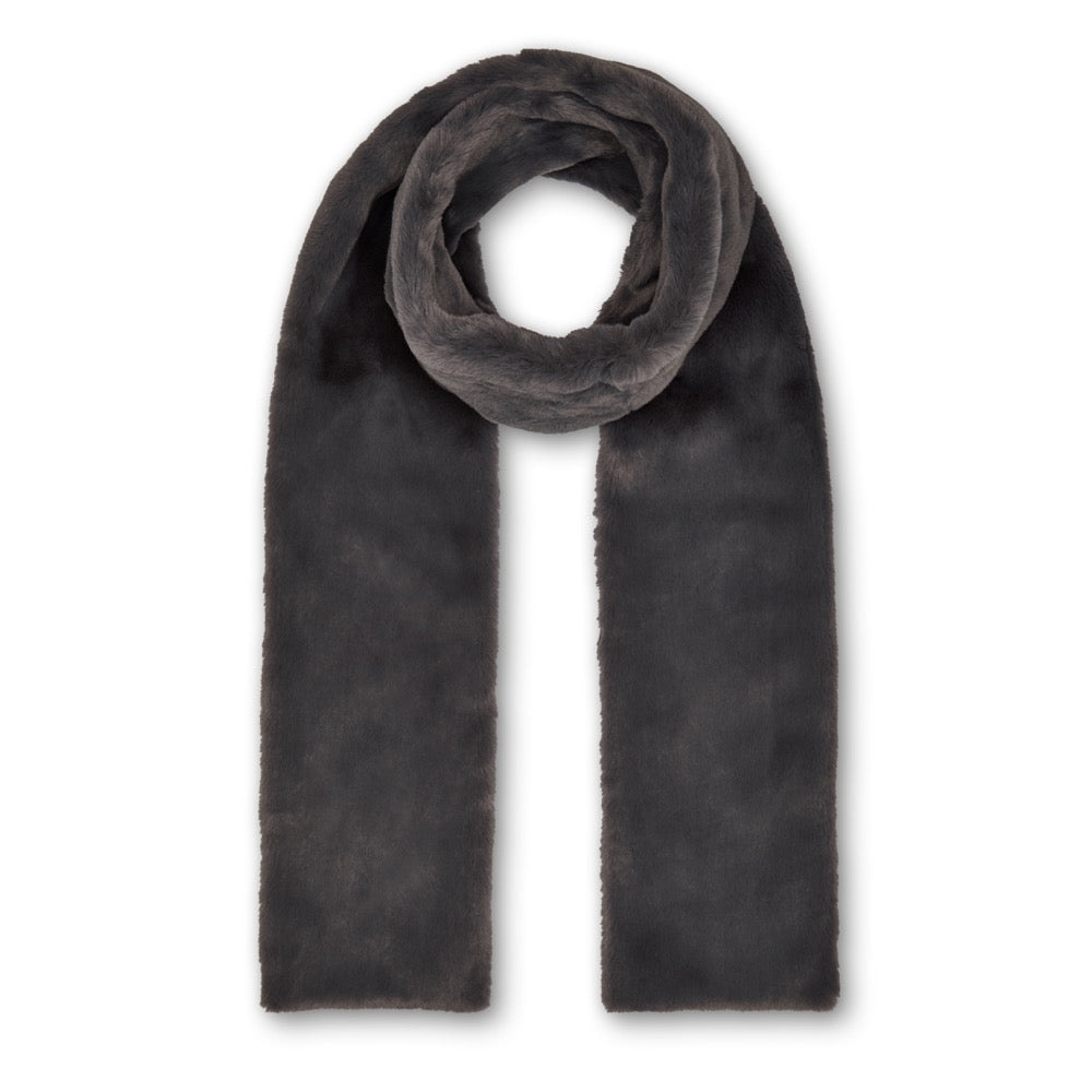 Anna Double Layer Scarf - Grey