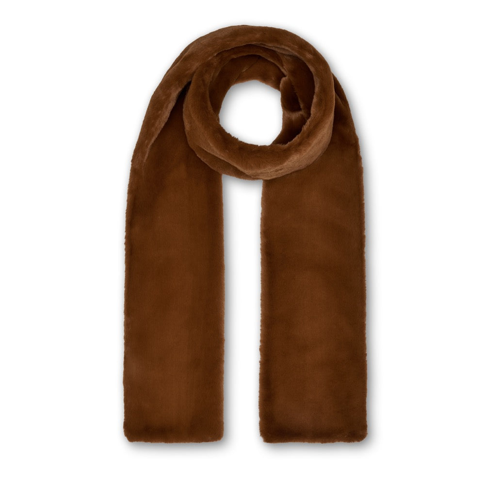 Anna Double Layer Scarf - Toffee