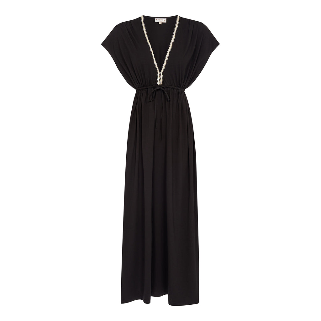 Azul Maxi Dress - Black