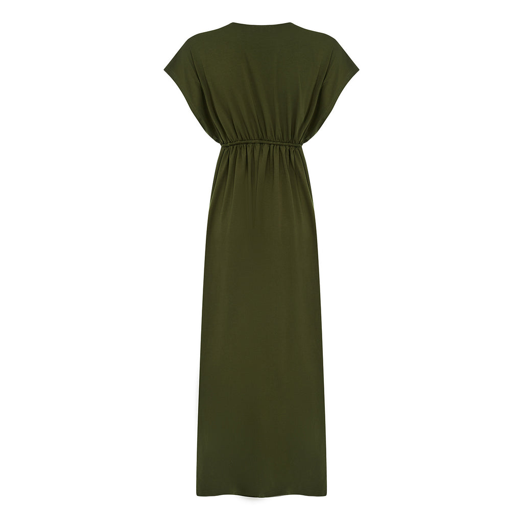 Azul Maxi Dress - Khaki