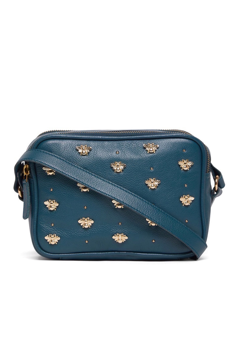 Nixie Bee Stud Cross Body - Teal