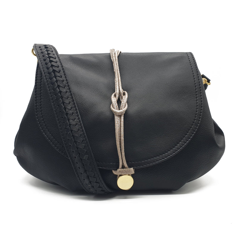 Belvedere Shoulder Bag - Black