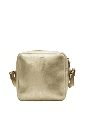 Cosmo Cross Body Bag - Gold