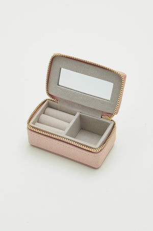 Tiny Jewellery Box - Blush