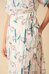 Jenna Wrap Dress - Azrou Monkey