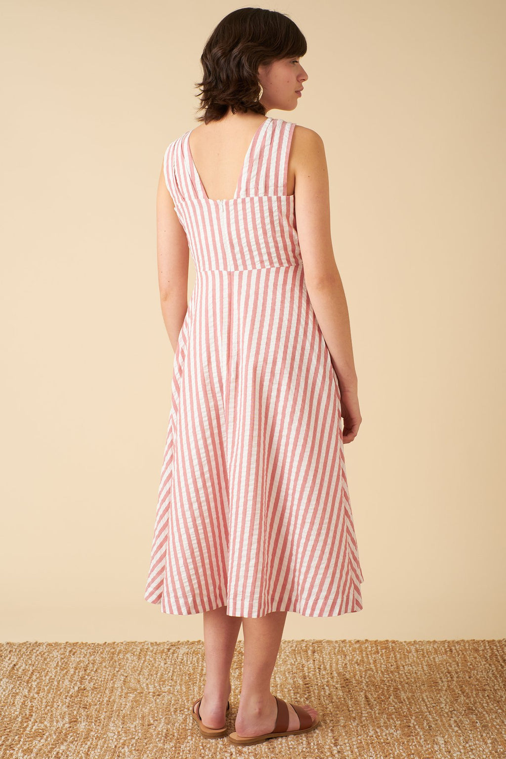 Seline Dress - Riviera Stripe