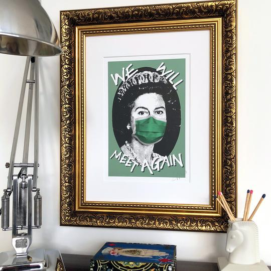 We Will Meet Again Signed Print - Green