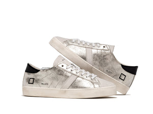 D.A.T.E Sneakers - Hill Low Stardust Silver