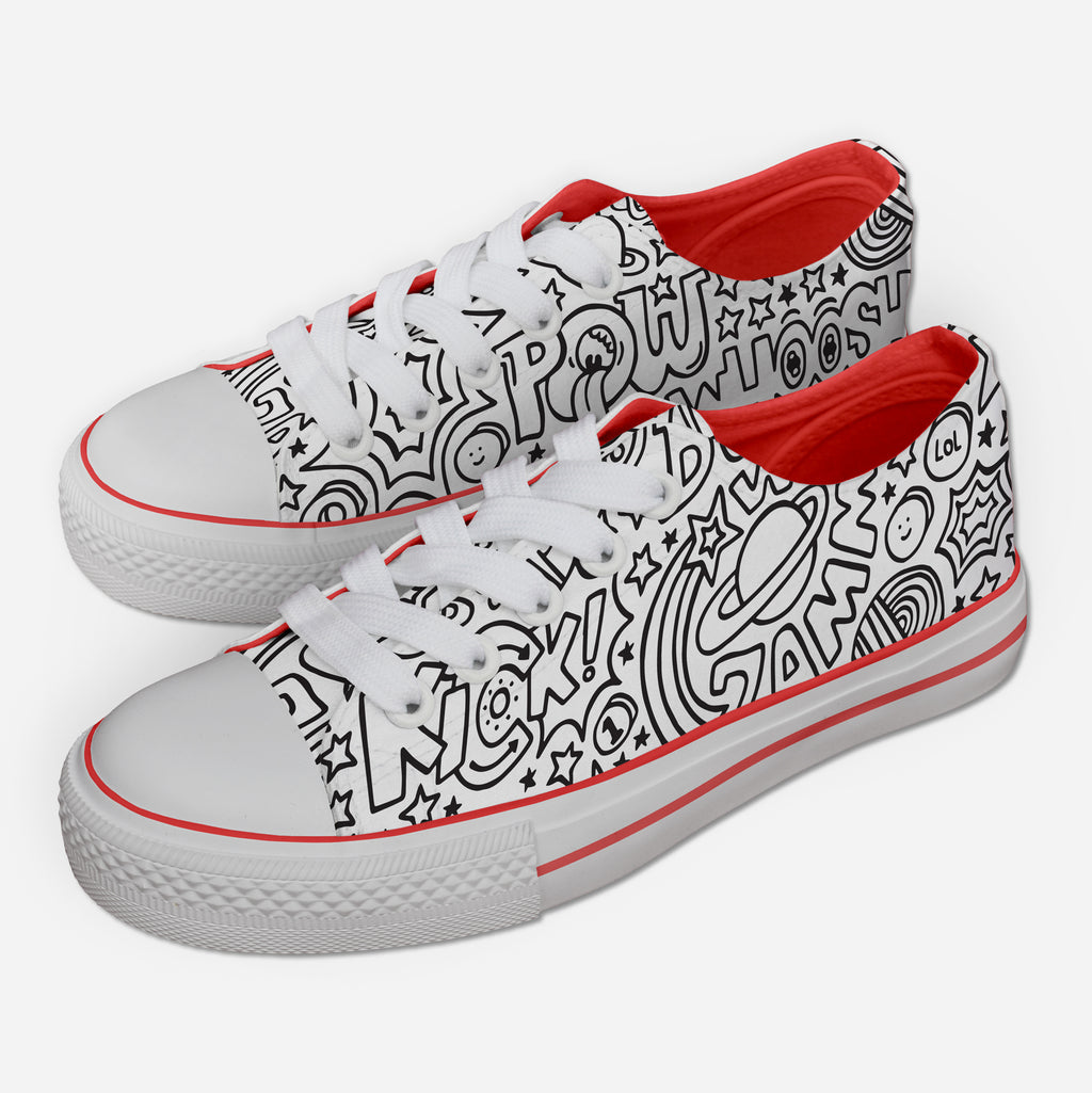 Comic Action Sneakers